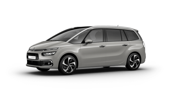 Citroën Grand C4 Spacetourer grå metallic familjebil