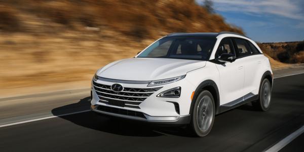 hyundai nexo elbil nya bilar 2019 vit
