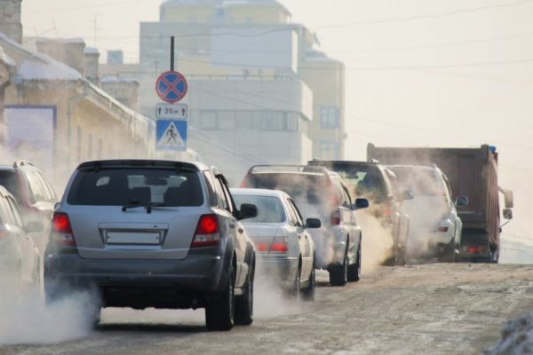 NOx dieselbilar utsläpp