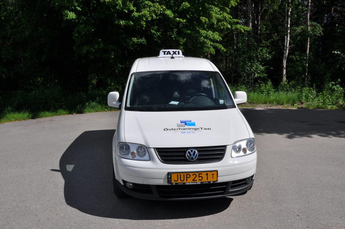 registreringsskylt taxi