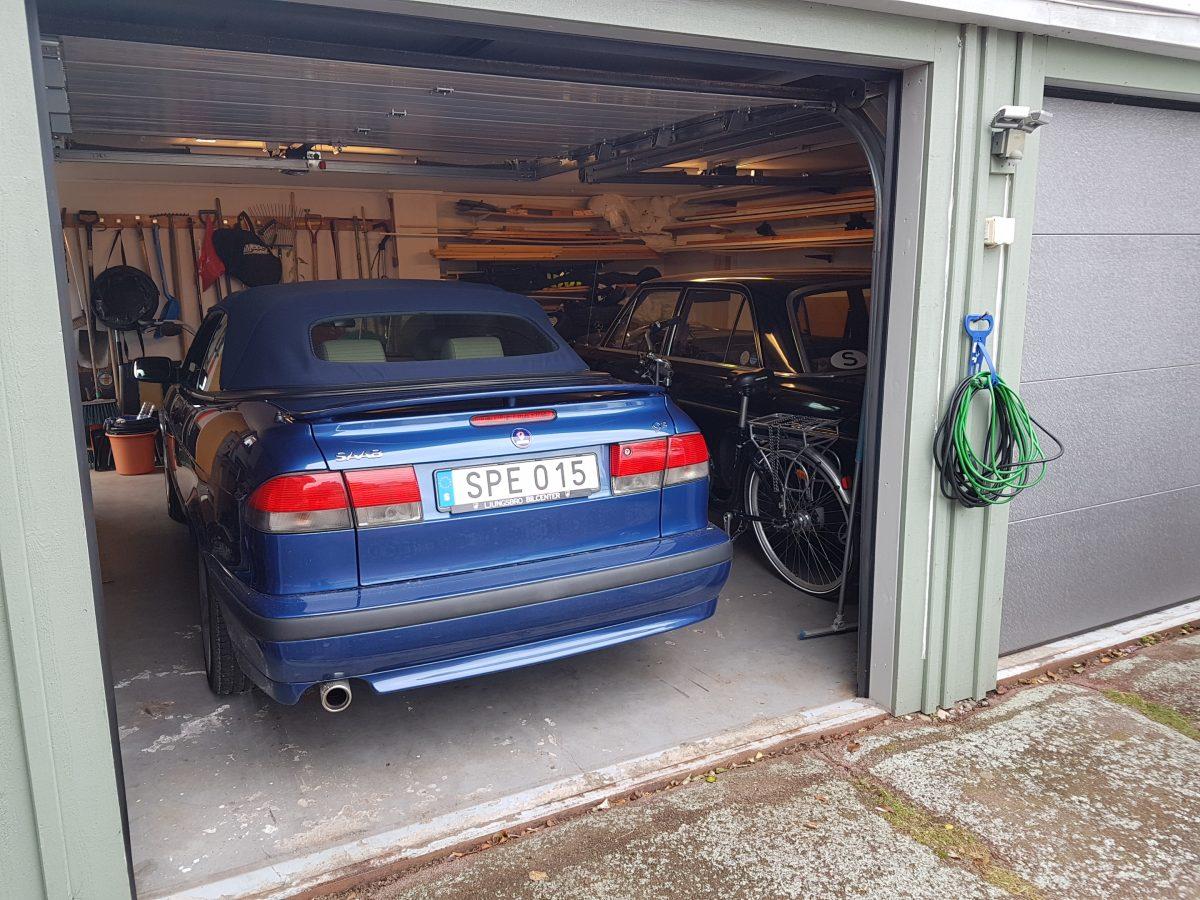 stöldsäkra bil parkering garage
