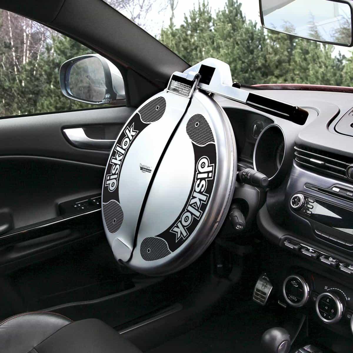 stöldsäkra bilen rattlås