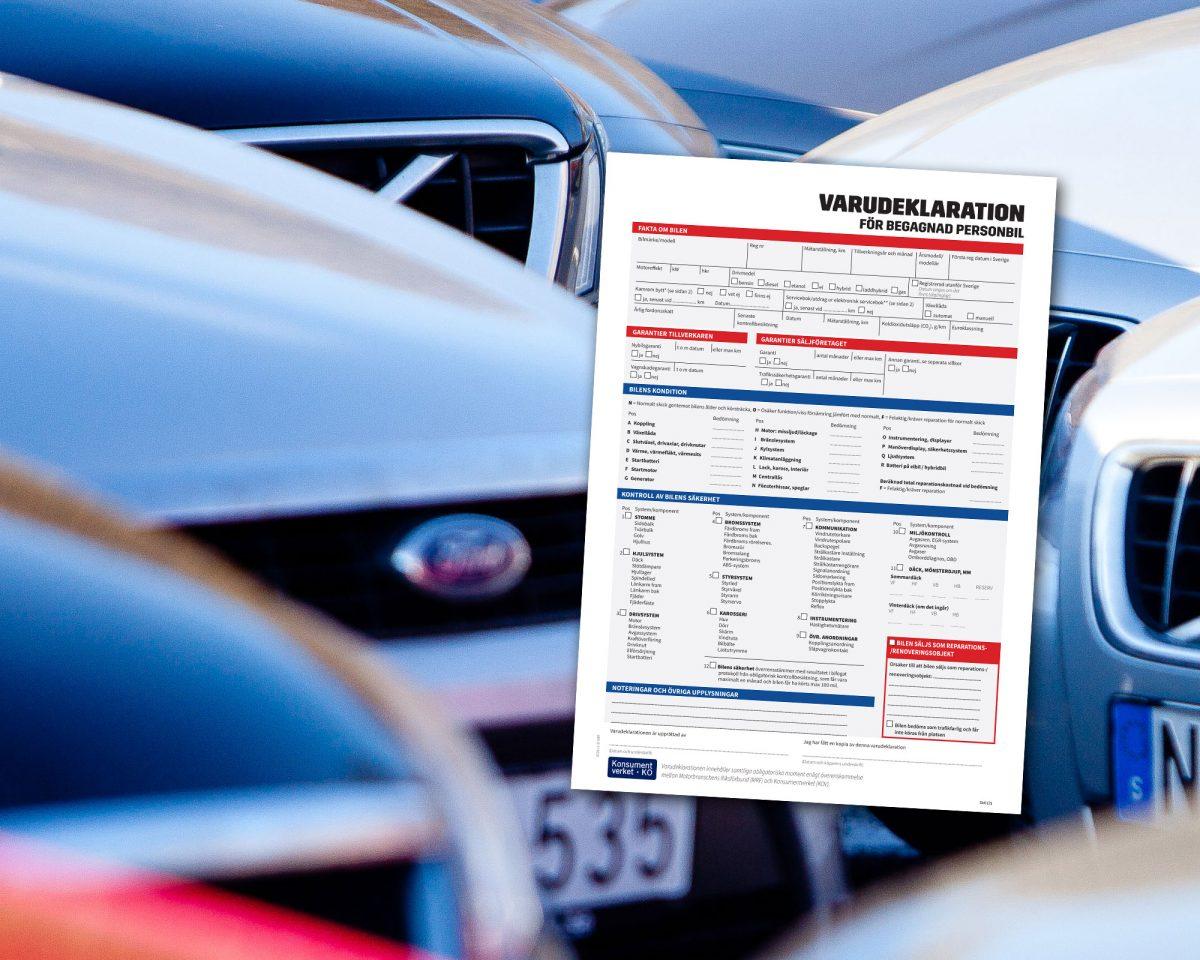 Bilhandlare måste varudeklarera alla begagnade bilar