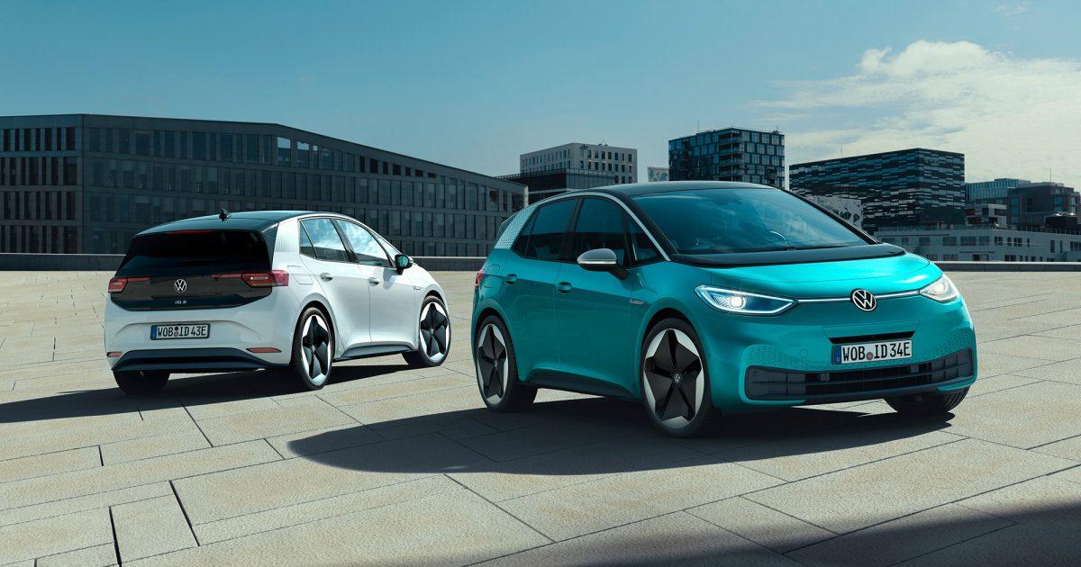 elbilar 2020 Volkswagen ID.3 1 st 2020