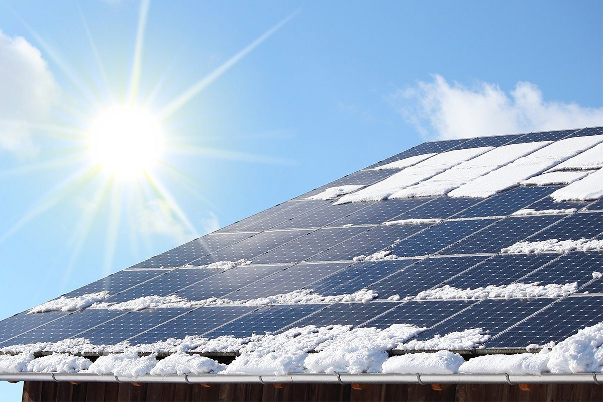 installera solceller moln snö 4