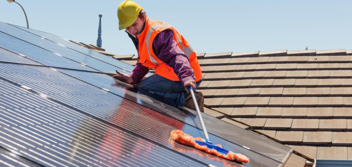 installera solceller underhåll skötsel 5