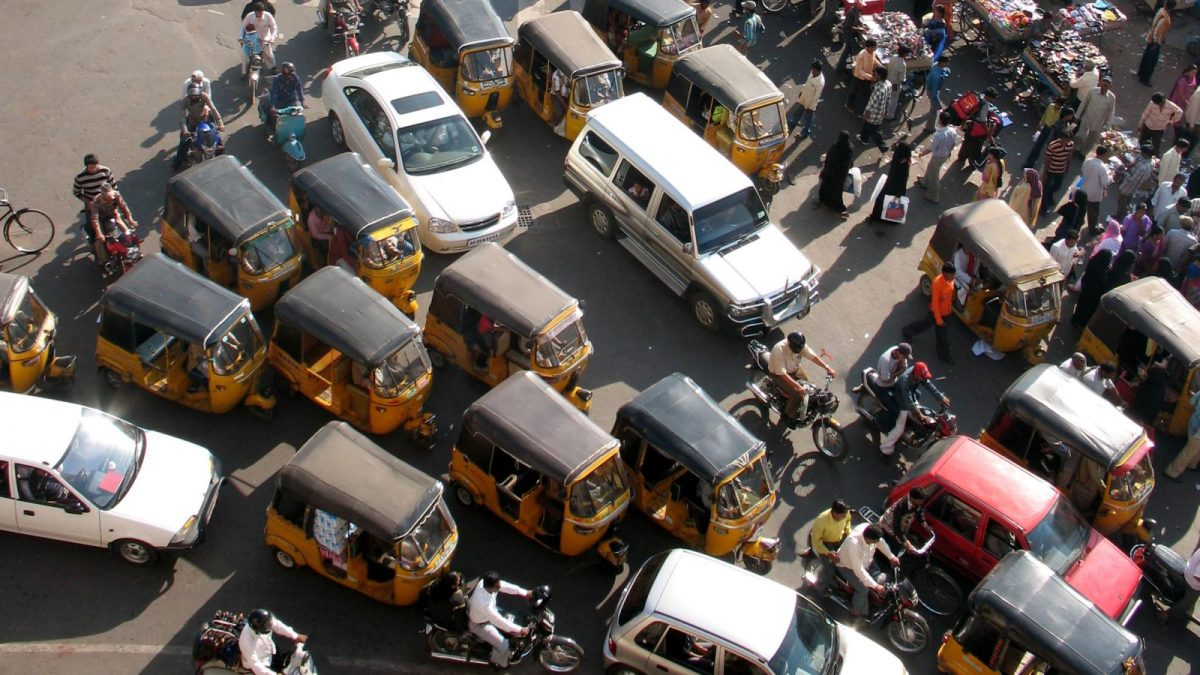 sämsta bilförare indien 7