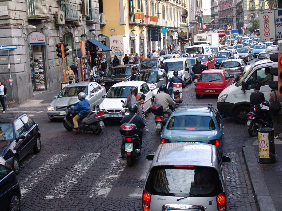 sämsta bilförare italien 4