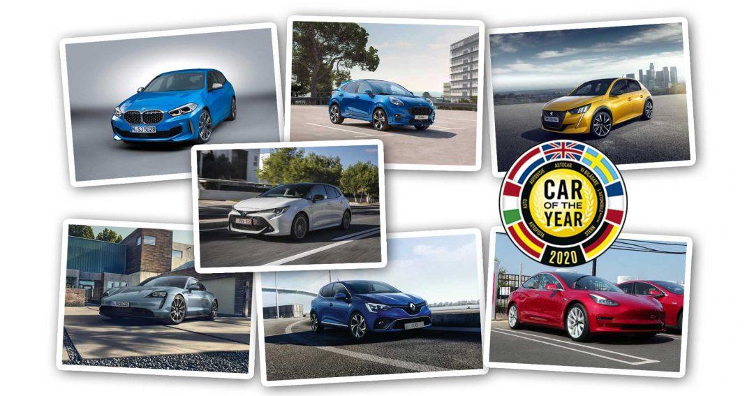 Årets Bil i Europa 2020-finalisterna Car of the Year