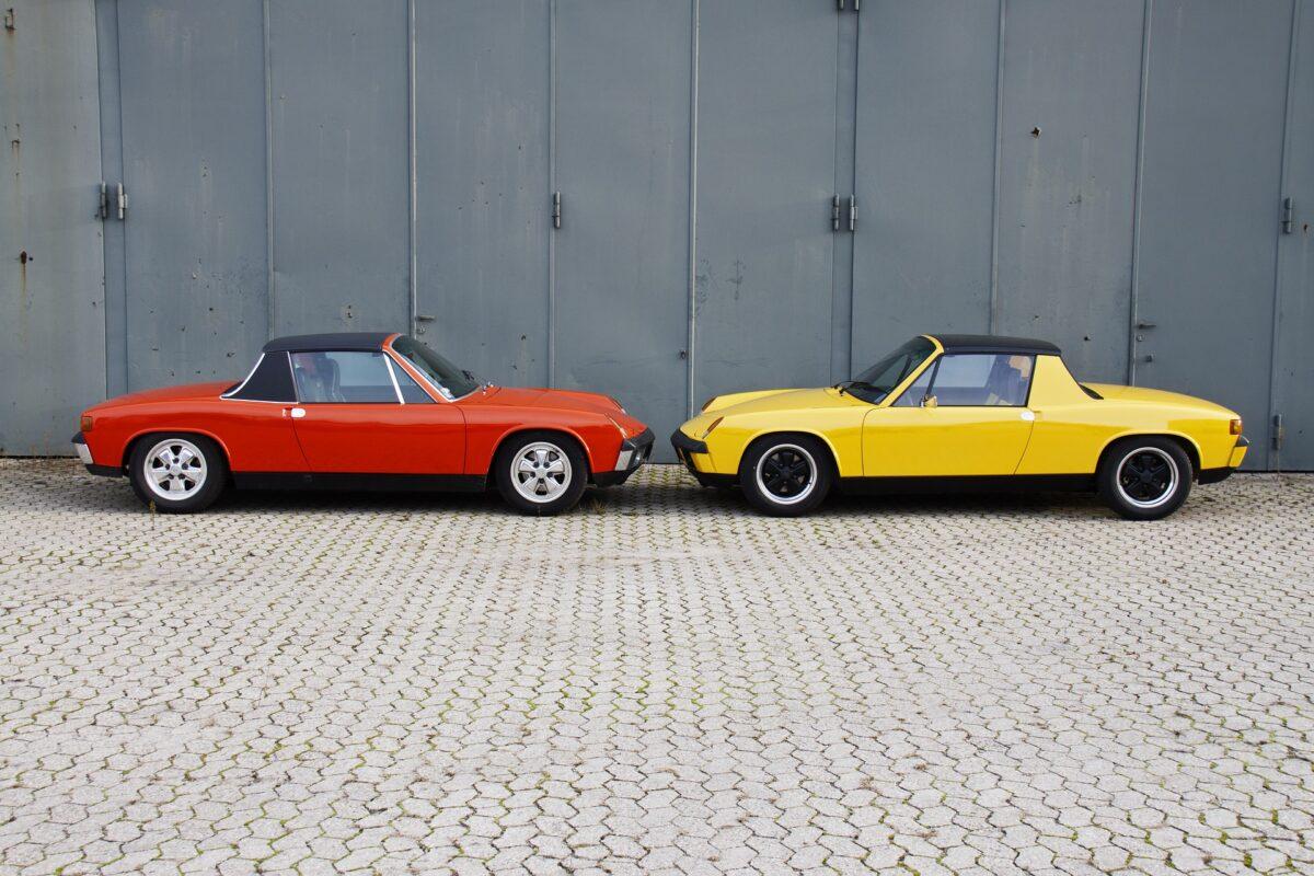 klassiska bilar porsche 914 4